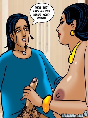 Adult Comics Velamma 66- Heart to Hard On Porn Comic 177