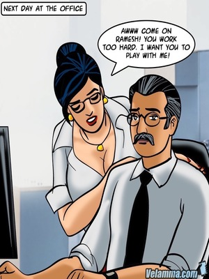 Adult Comics Velamma 66- Heart to Hard On Porn Comic 60