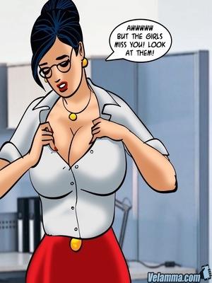 Adult Comics Velamma 66- Heart to Hard On Porn Comic 62