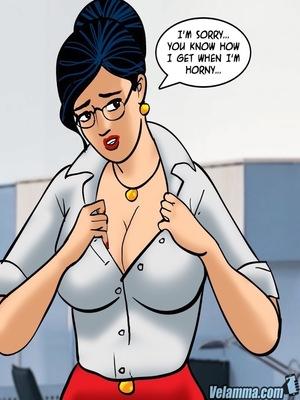 Adult Comics Velamma 66- Heart to Hard On Porn Comic 65
