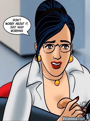 Adult Comics Velamma 66- Heart to Hard On Porn Comic 72