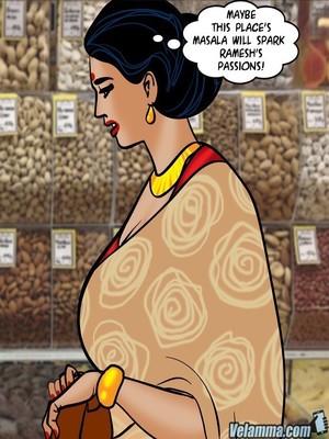 Adult Comics Velamma 67- Milf Masala Porn Comic 05