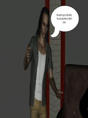 3D Porn Comics Vger- The Frat House- Day 1 Porn Comic 06