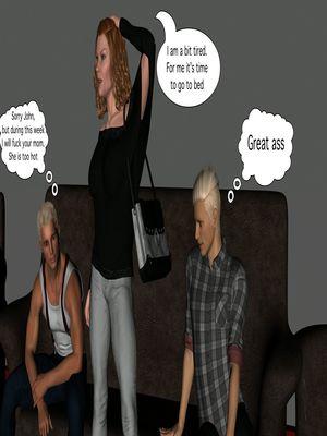 3D Porn Comics Vger- The Frat House- Day 1 Porn Comic 10