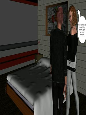 3D Porn Comics Vger- The Frat House- Day 1 Porn Comic 12
