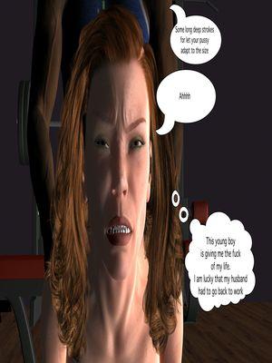 3D Porn Comics Vger- The Frat House- Day 1 Porn Comic 58