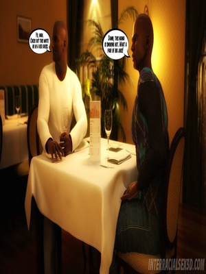 Interracial Comics Wedding Anniversary- InterracialSex3D Porn Comic 04