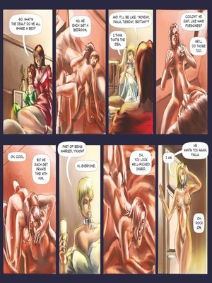 Adult Comics Wedding Ceremony- Mind Control Porn Comic 12