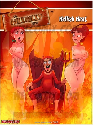 Porn Comics - Animated Incest – Welcomix- Hillbilly Farm 18- Hellish Heat Porn Comic