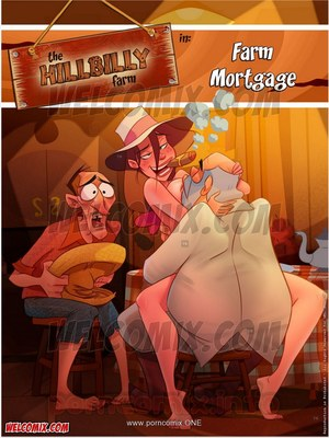 Porn Comics - Animated Incest – Welcomix-Hillbilly Gang 13- Farm Mortgage Porn Comic