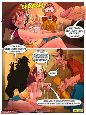 Incest Comics Welcomix-Hillbilly Gang 13- Farm Mortgage Porn Comic 13