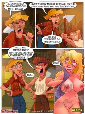 Animated Incest – Welcomix- Hillbilly Gang 14: Clearing Brush Porn Comic