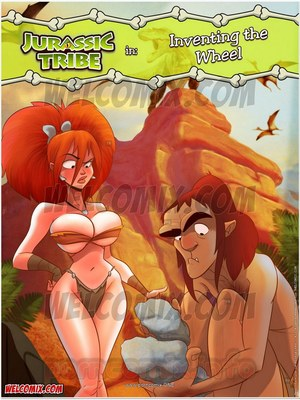 Porn Comics - Animated Incest – Welcomix- Jurassic Tribe 3- Inventing Wheel Porn Comic