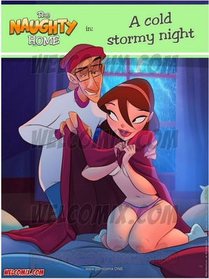 Porn Comics - Animated Incest – Welcomix-Naughty Home 21- Cold Stormy Night Porn Comic