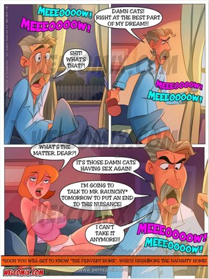 Incest Comics Welcomix-Naughty Home 27-Kitten in Heat Porn Comic 03