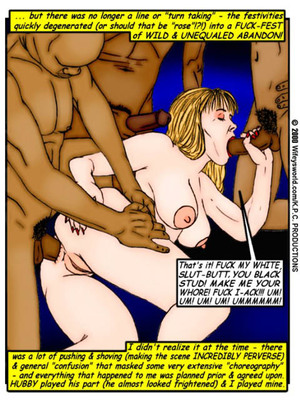 Interracial Comics Wifey- Forbidden Fantasies T6- Reward Porn Comic 03