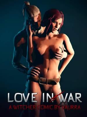 Porn Comics - Witcher- Love in War free Porn Comic