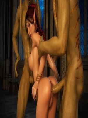 3D Porn Comics X3Z- Ruby, Lorelei, Syndory and Lara Porn Comic 06