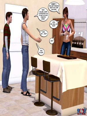 Y3DF Comics Y3DF – Meet The Johnson's 3 Porn Comic 46