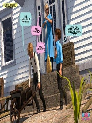 Y3DF Comics Y3DF- Deuteronomy-3DSimon Porn Comic 61