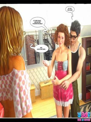 Y3DF Comics Y3DF- Don't Leave Him Porn Comic 108