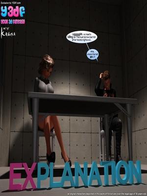 Porn Comics - Y3DF- Explanation Porn Comic