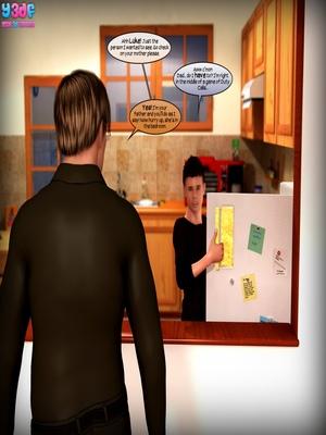 Y3DF Comics Y3DF- Flashback Porn Comic 09