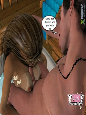 Y3DF Comics Y3DF- Sauna with mom Porn Comic 42