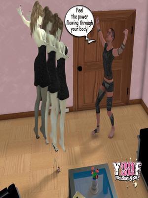 Y3DF Comics Y3DF- Spermpire Porn Comic 16