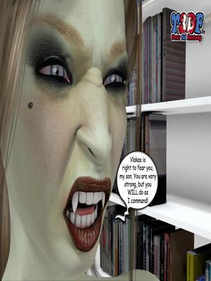 Y3DF Comics Y3DF- Spermpire Porn Comic 75