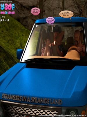 Y3DF Comics Y3DF- Strangers in a StrangeLand Porn Comic 01