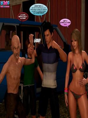 Y3DF- Strangers in a StrangeLand Porn Comic sex 09