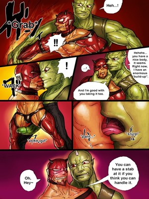 Porncomics ZARK the squeezer Porn Comic 05