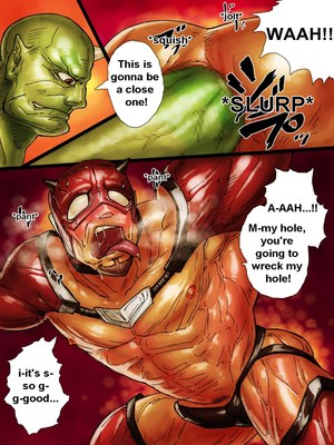 Porncomics ZARK the squeezer Porn Comic 09