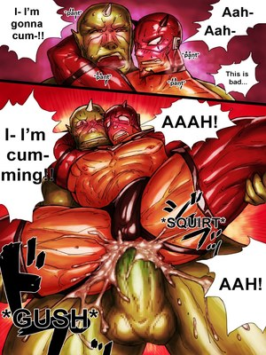 Porncomics ZARK the squeezer Porn Comic 13