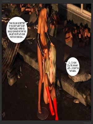 3D Porn Comics Zuleyka – Ultragirl Vs Futakitty- Affect3D Porn Comic 31