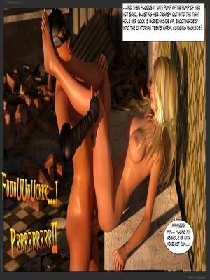 3D Porn Comics Zuleyka – Ultragirl Vs Futakitty- Affect3D Porn Comic 50