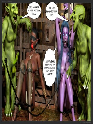 Zuleyka- Tyrande in Trouble Part 2 free Porn Comic sex 08