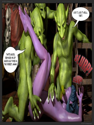 Zuleyka- Tyrande in Trouble Part 2 free Porn Comic sex 12