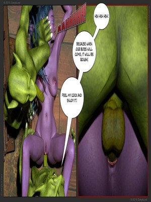 Zuleyka- Tyrande in Trouble Part 2 free Porn Comic sex 19