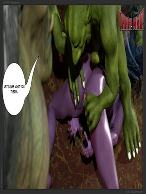 Zuleyka- Tyrande in Trouble Part 2 free Porn Comic sex 20