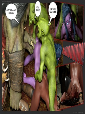 Zuleyka- Tyrande in Trouble Part 2 free Porn Comic sex 24