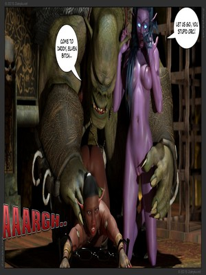 Zuleyka- Tyrande in Trouble Part 2 free Porn Comic sex 27