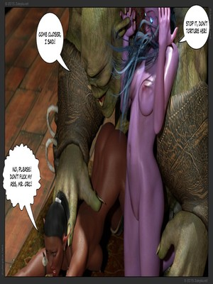 Zuleyka- Tyrande in Trouble Part 2 free Porn Comic sex 28