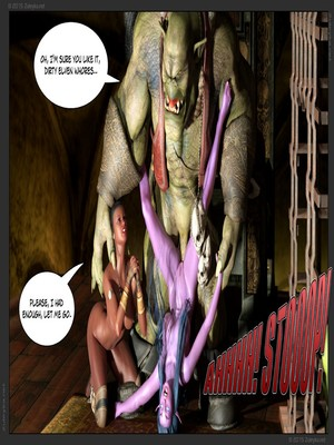 Zuleyka- Tyrande in Trouble Part 2 free Porn Comic sex 37