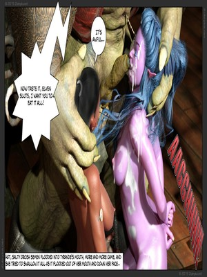 Zuleyka- Tyrande in Trouble Part 2 free Porn Comic sex 40