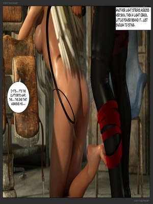 3D Porn Comics Zuleyka- Ultragirl and Futa Panther Porn Comic 16