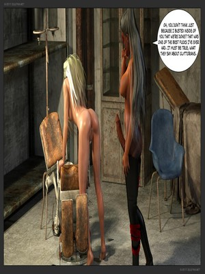 3D Porn Comics Zuleyka- Ultragirl and Futa Panther Porn Comic 44