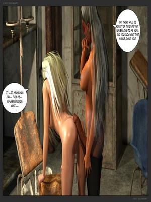 3D Porn Comics Zuleyka- Ultragirl and Futa Panther Porn Comic 46