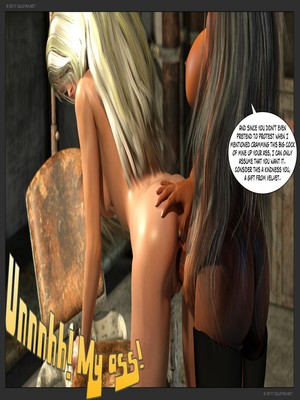 3D Porn Comics Zuleyka- Ultragirl and Futa Panther Porn Comic 48